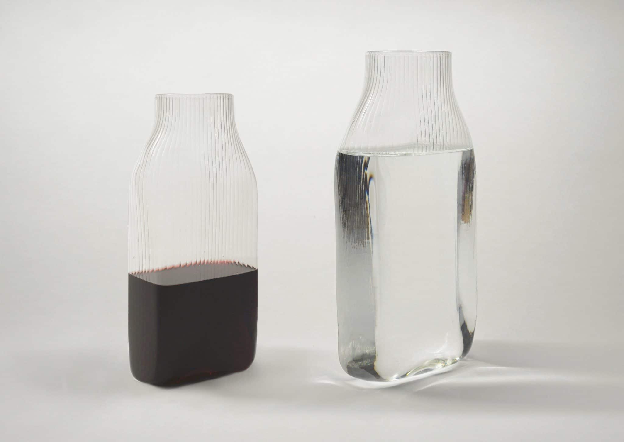 con vino e acqua prospettiva